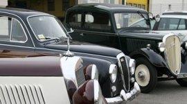 Alcuni modelli di auto d'epoca