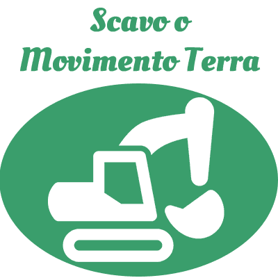 scavo o movimento terra