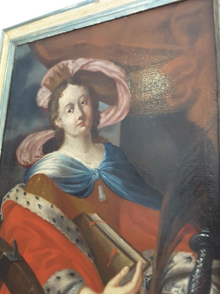 Caterina D'Alessandria fine '600