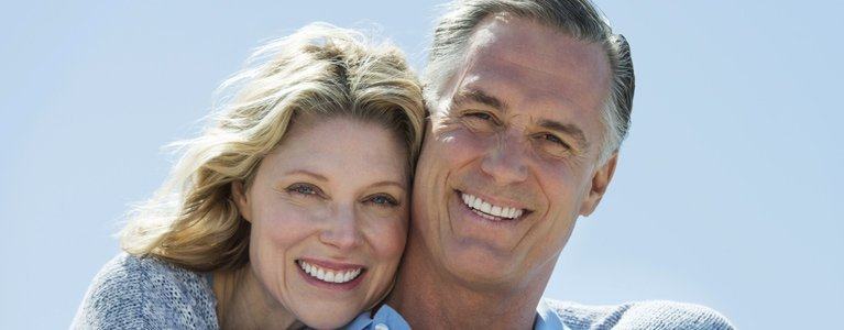 winthrop dental clinic mature happy couple