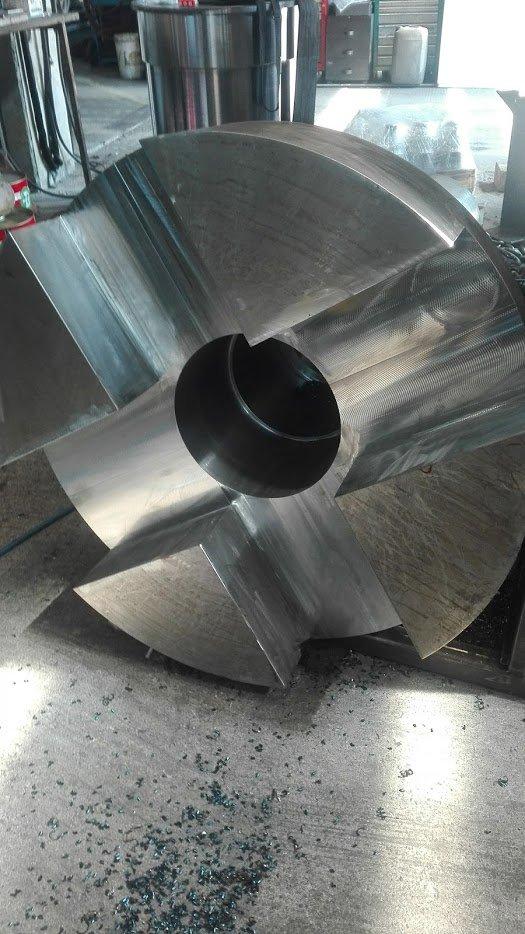 metallo sottoposto a lavorazione