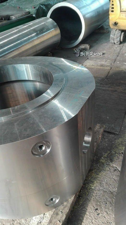 dettaglio di componente metallica