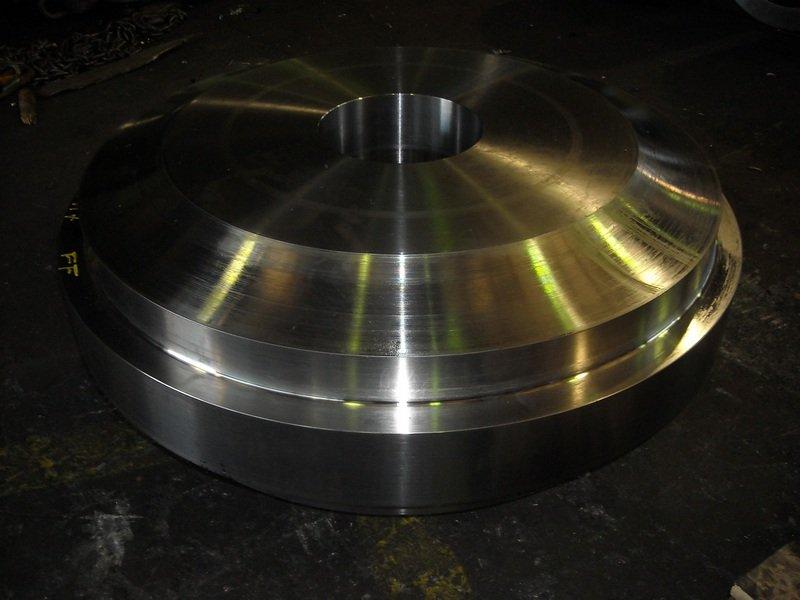 componenti metalliche dopo fase di fabbricazione