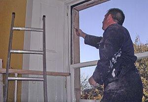 window painting