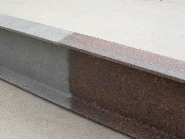 sabbiatura metalli