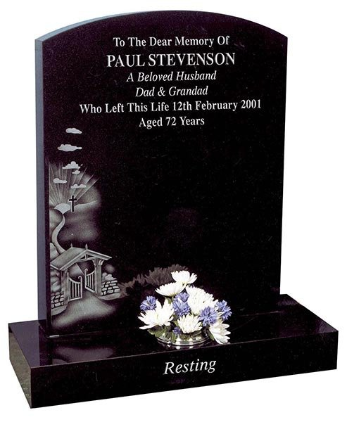 paul stevenson headstone