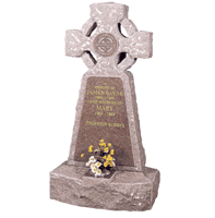 cairn style  headstone