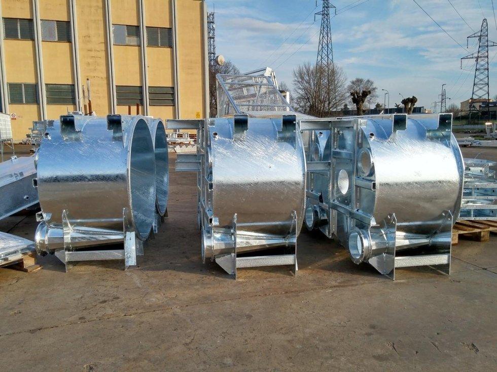 materiali metallici per lavatrici