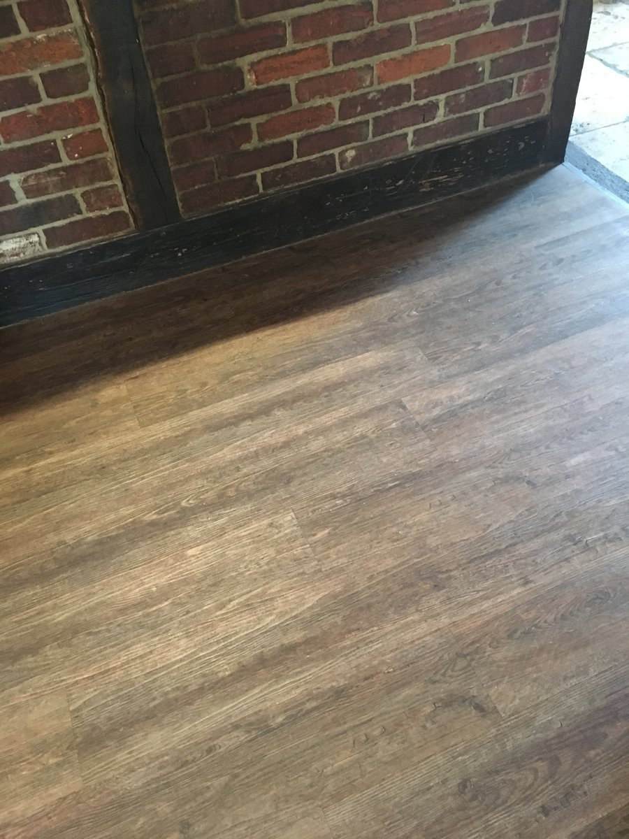 wooden flooring in home