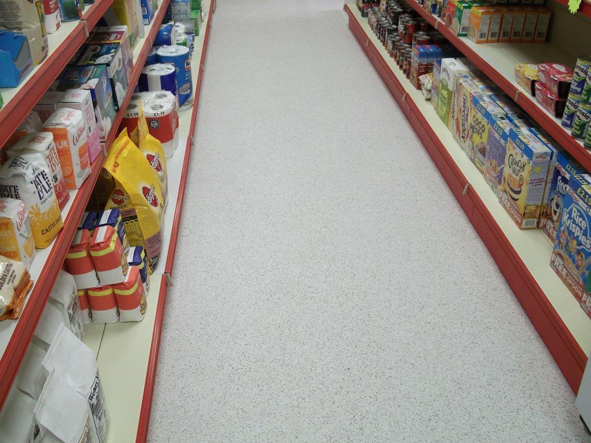 aisle flooring