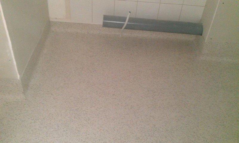 cream flooring