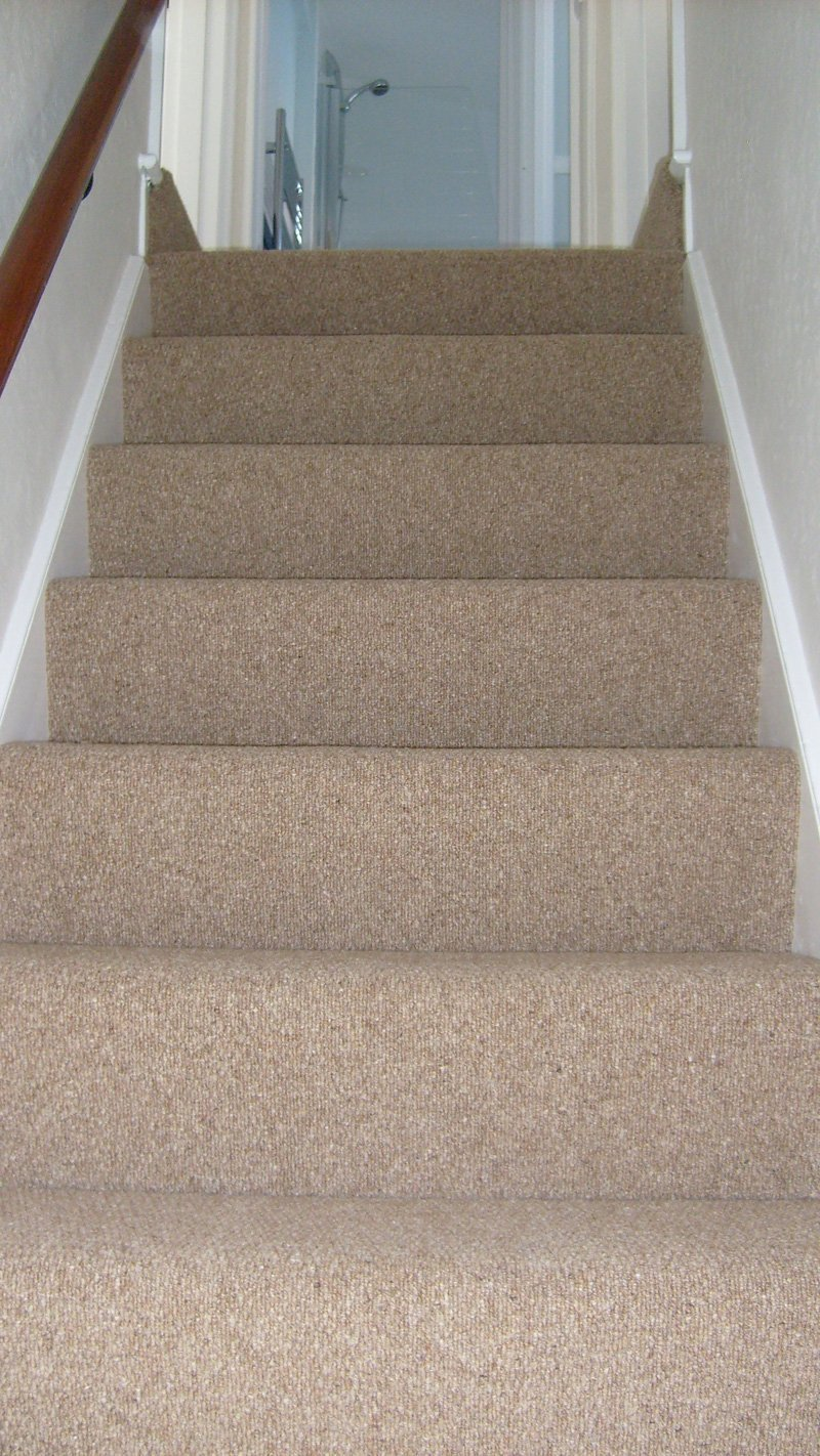 carpet on stairway