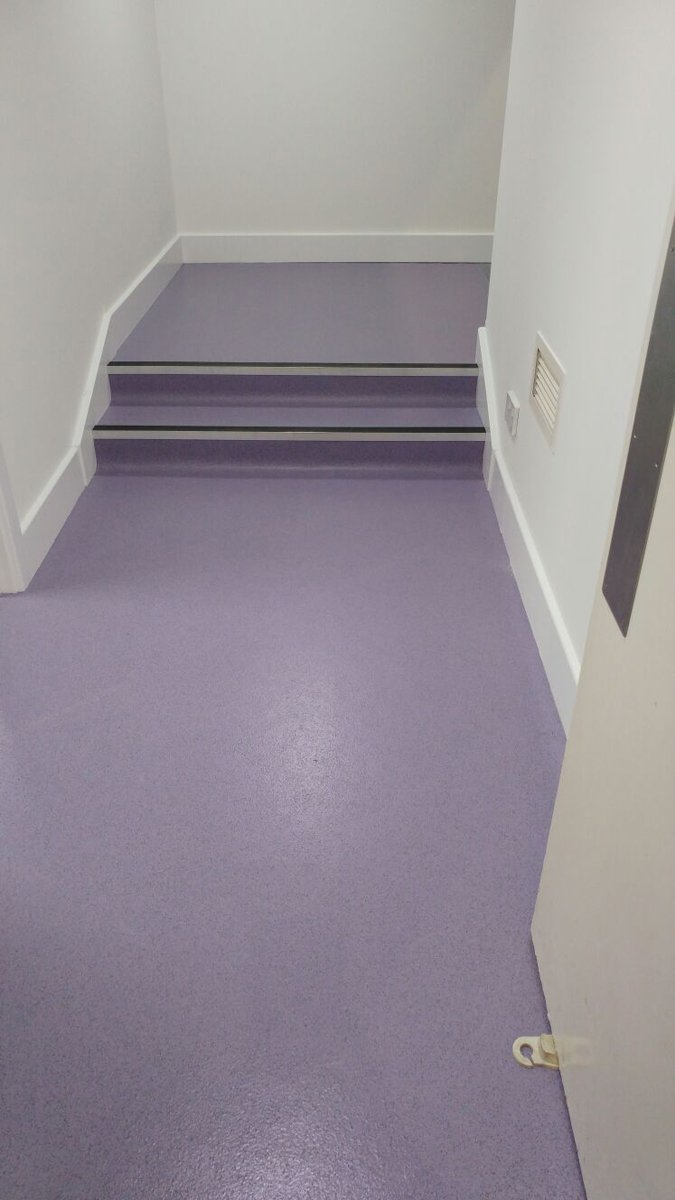 purple vinyl flooring