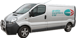 Arabis Couriers Ltd van