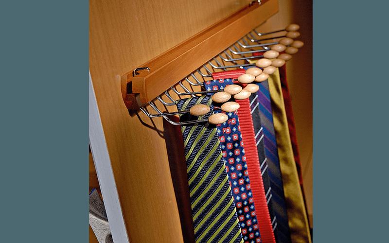 Porta Cravatte per anta
