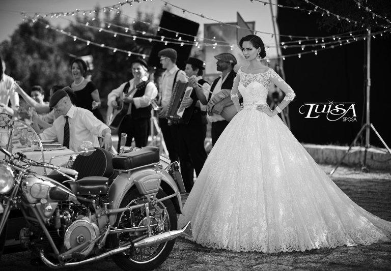 abito sposa L 6141