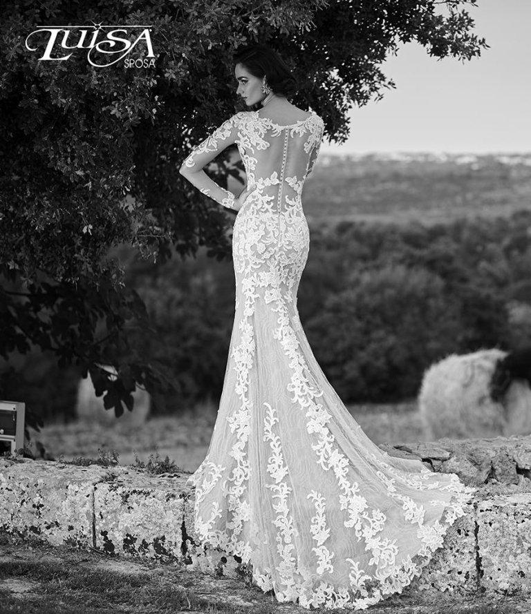 abito sposa L 6133