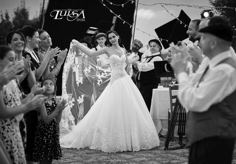 abito sposa L 6144