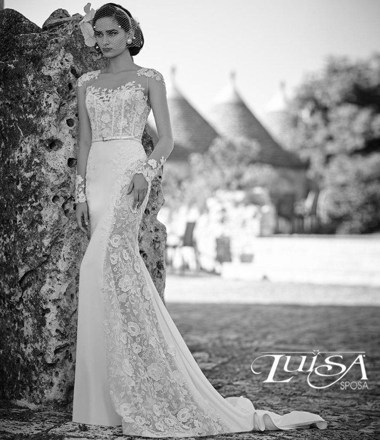 abito sposa L 6136