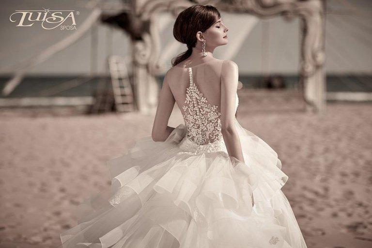 abito sposa L 7143_1