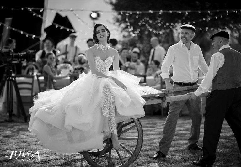 abito sposa L 61111