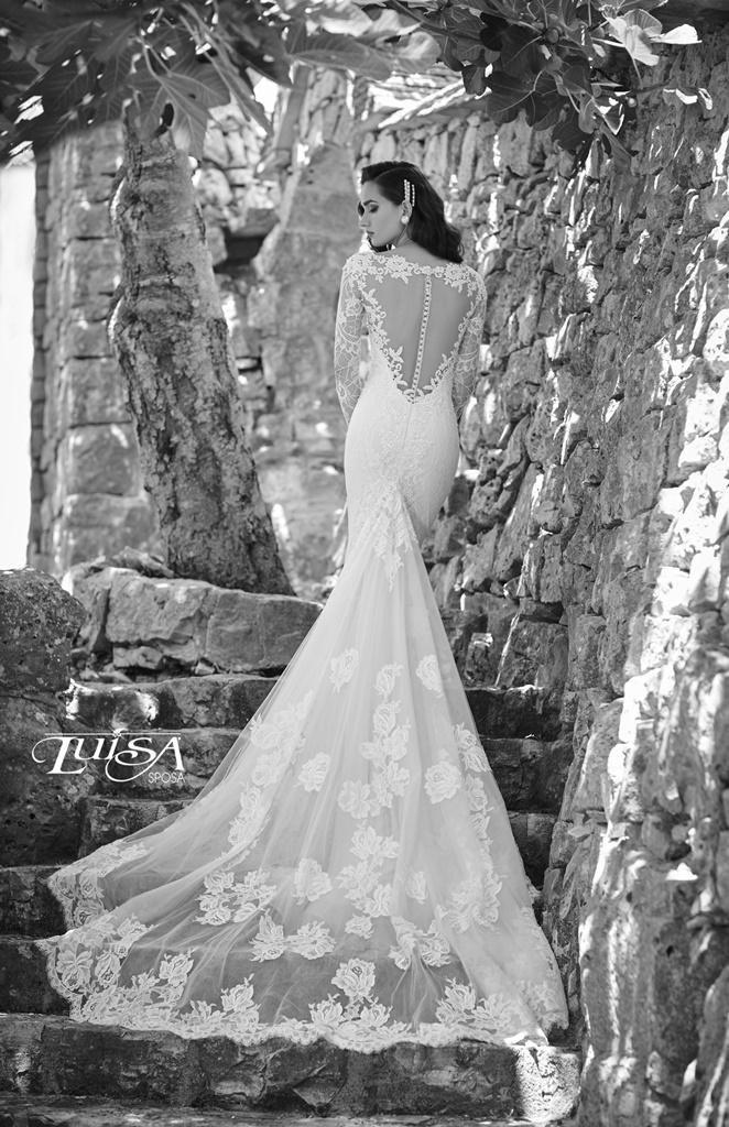 abito sposa L 6193