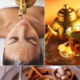 massaggio ayurvedico con oli Tridosha