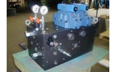 blocco oleodinamico modulare