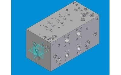 disegno blocco oleodinamico