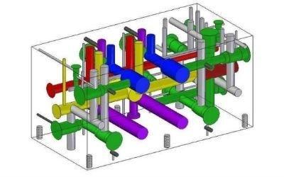 progettazione blocco oleodinamico