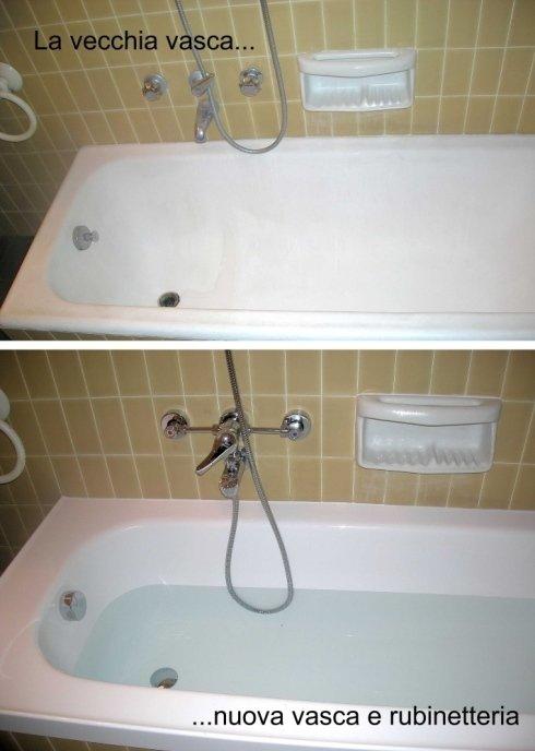Vasca da bagno e rubinetteria