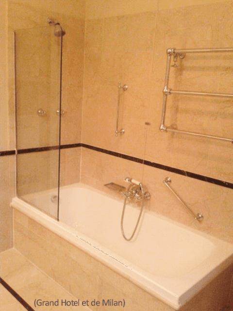 rifacimento bagni Grand Hotel et de Milan
