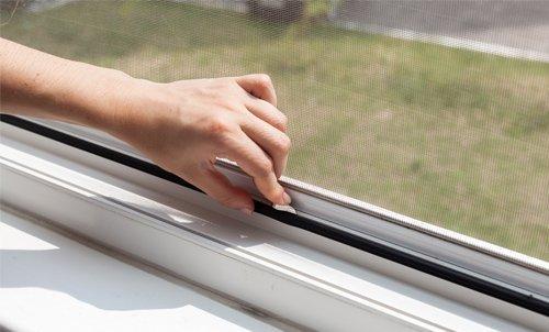 zanzariera da finestra