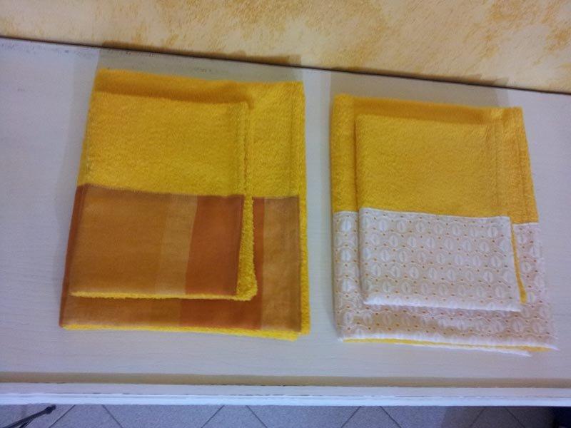 asciugamani e tessuti per bagno