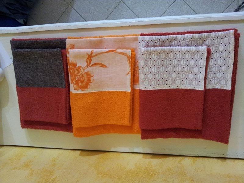 biancheria e tessuti per il bagno