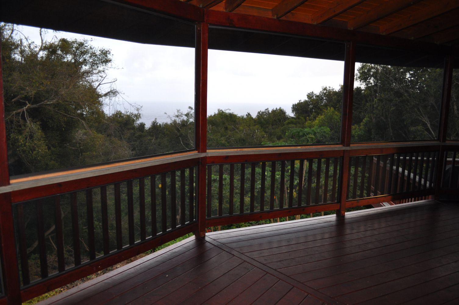 Pictuer of Screen from Hawaiian Door and Window screens on Maui, Hawaii.