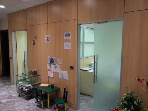 La sala di attesa per i bambini.