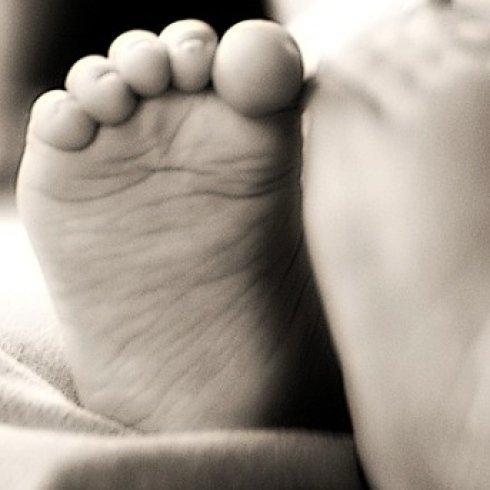Il piede del bambino