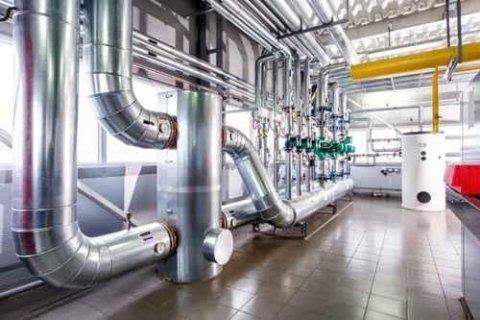 impianto industriale di riscaldamento