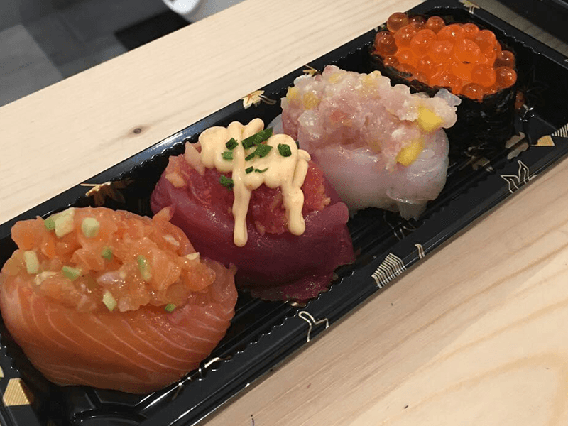 giapponese asporto