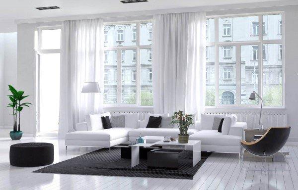 interno appartamento moderno