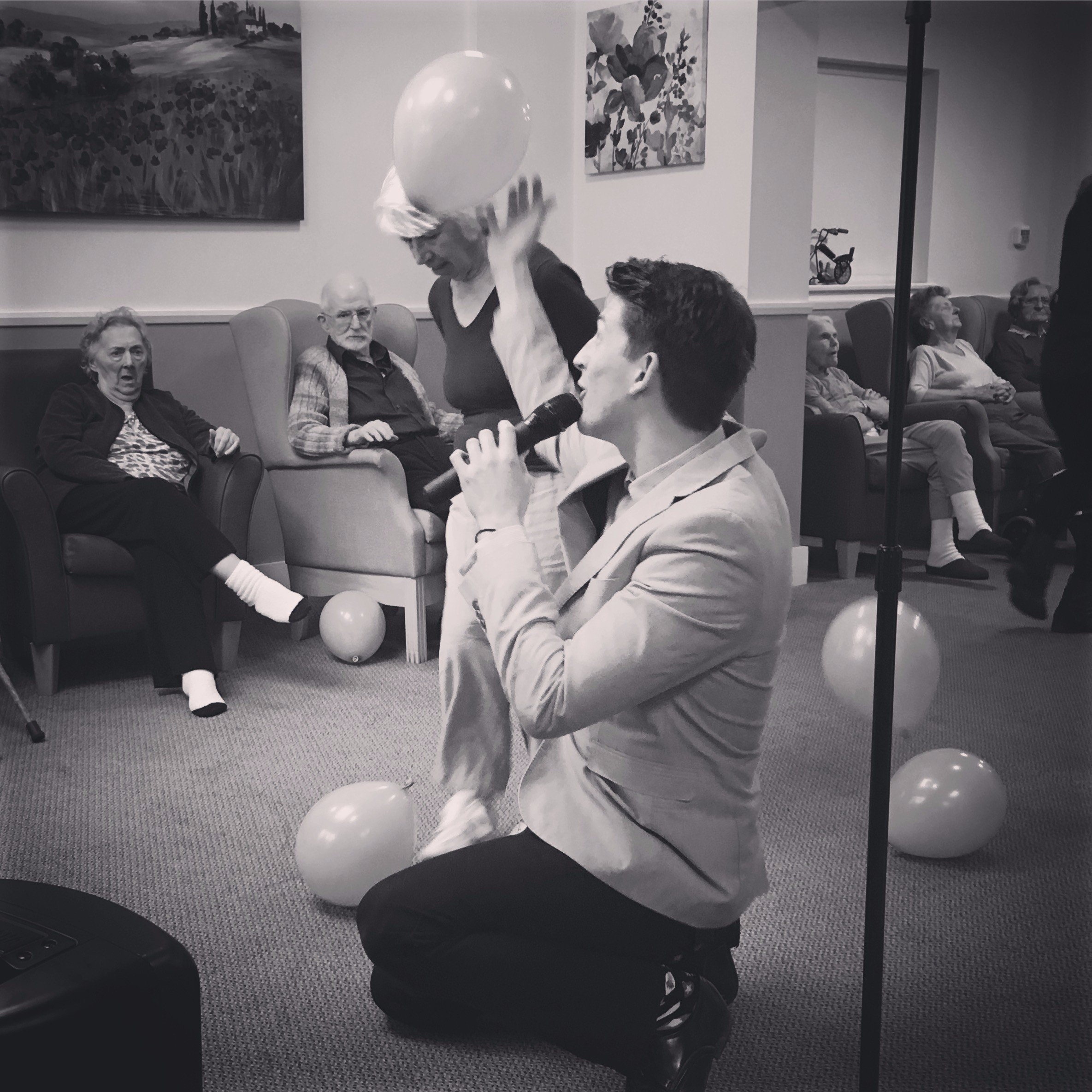 activities and entertainment in care homes