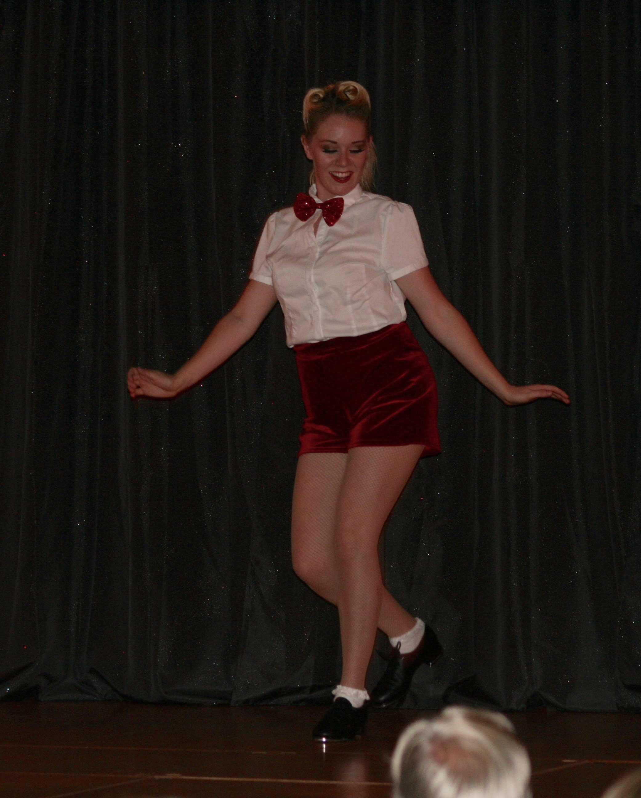 charity fundraising tour tap dancer