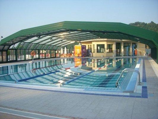 piscina esterna dello stabilimento