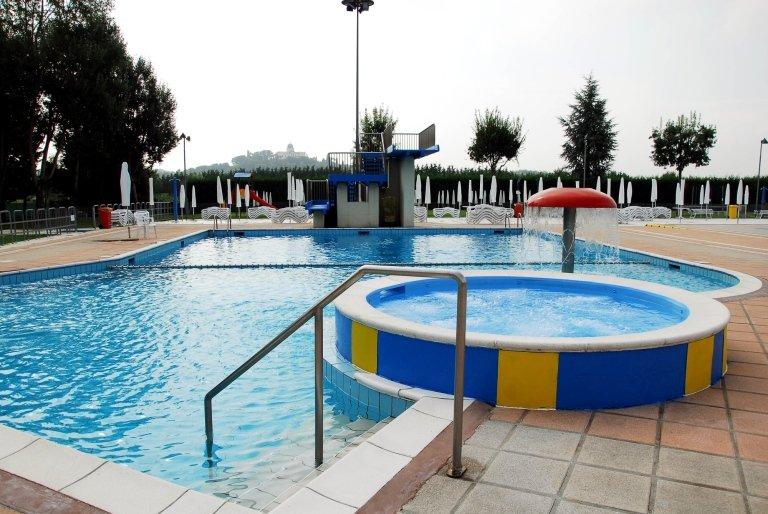 piscines thermales extérieures