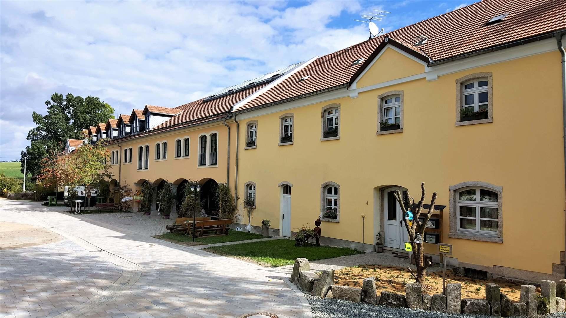 Rittergut Adlershof zu Oberlauterbach - Ansicht Ostflügel © Jens Reiher