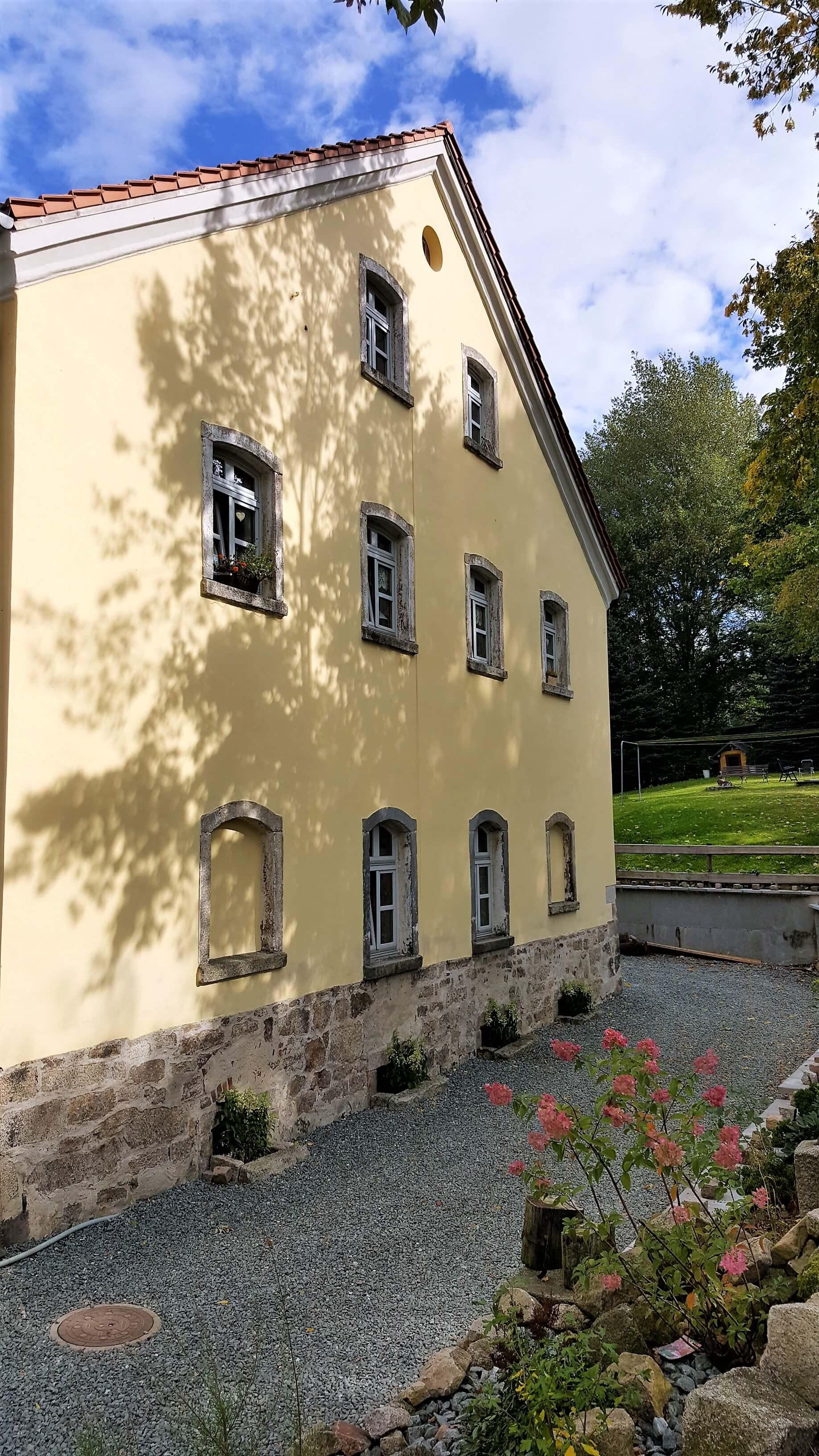 Rittergut Adlershof zu Oberlauterbach - Giebel Gutsverwalterhaus © Jens Reiher