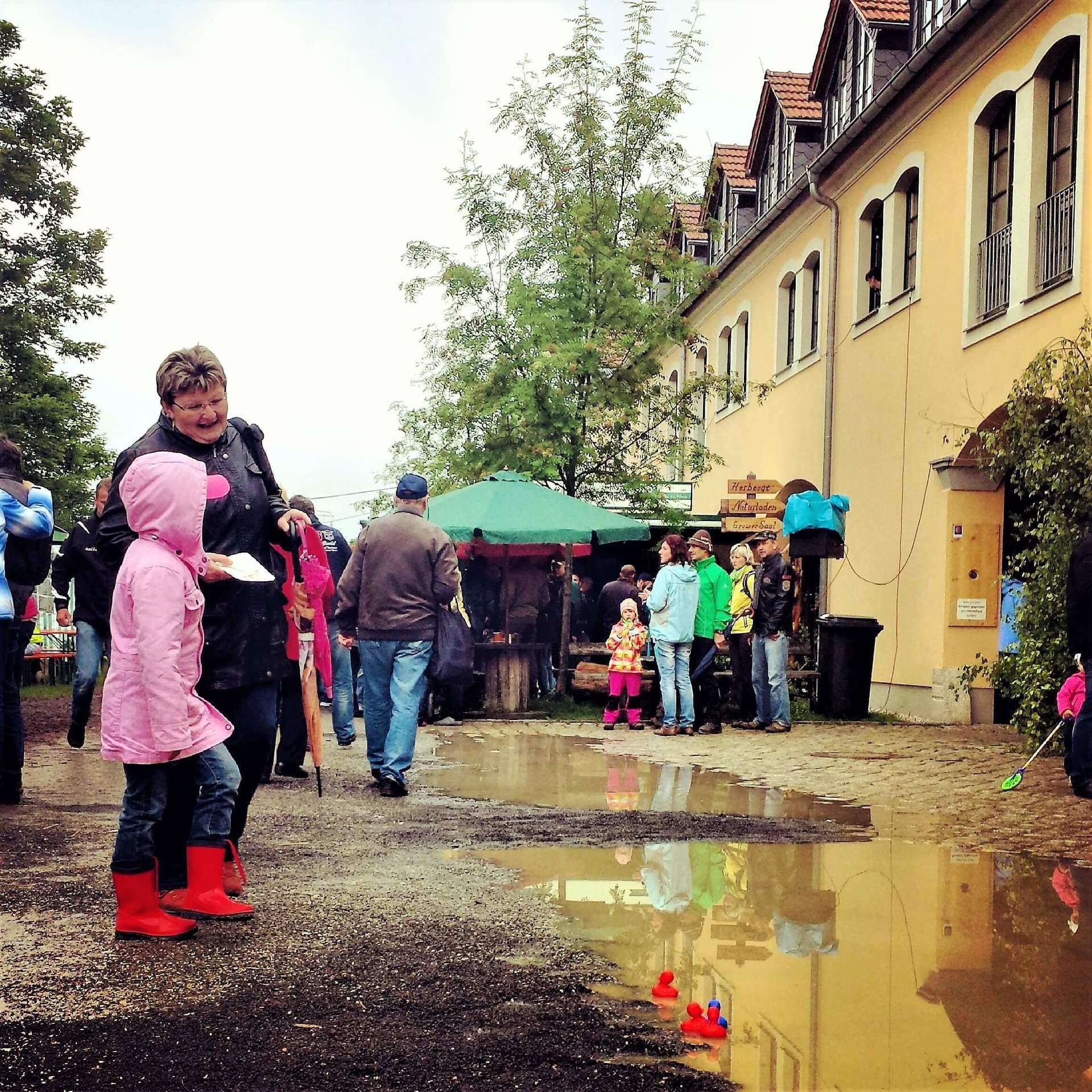 Rittergut Adlershof zu Oberlauterbach - Gutshoffest 2013 © Jens Reiher