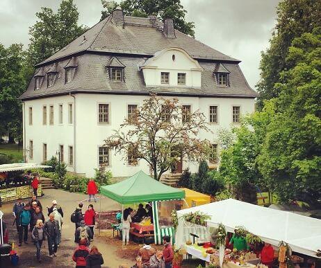 Rittergut Adlershof zu Oberlauterbach - Gutshoffest 2015 © Jens Reiher