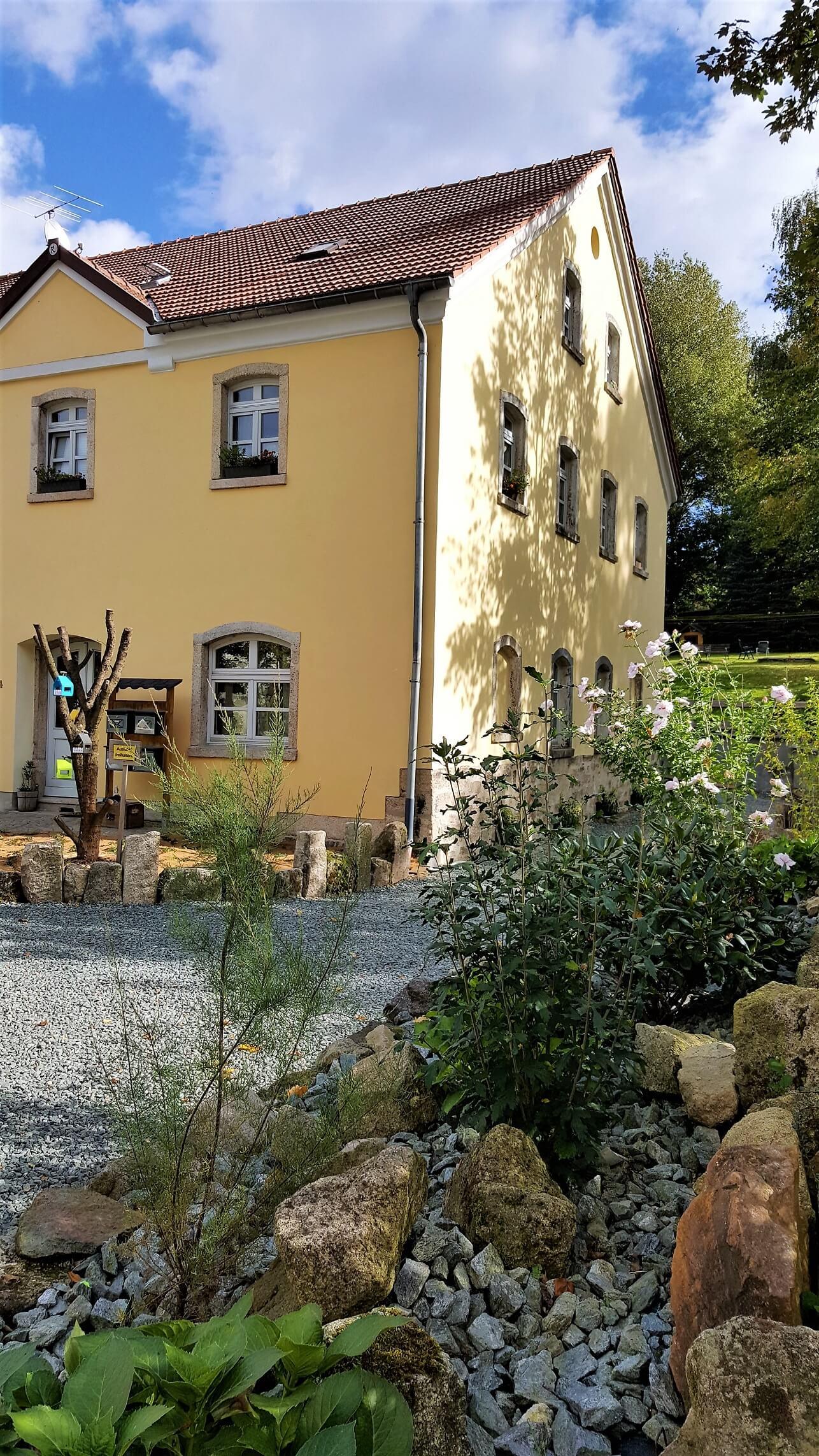Rittergut Adlershof zu Oberlauterbach - Gutsverwalterhaus © Jens Reiher